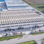 foto dall'alto dell'hub di massarosa di AV Service s.p.a.